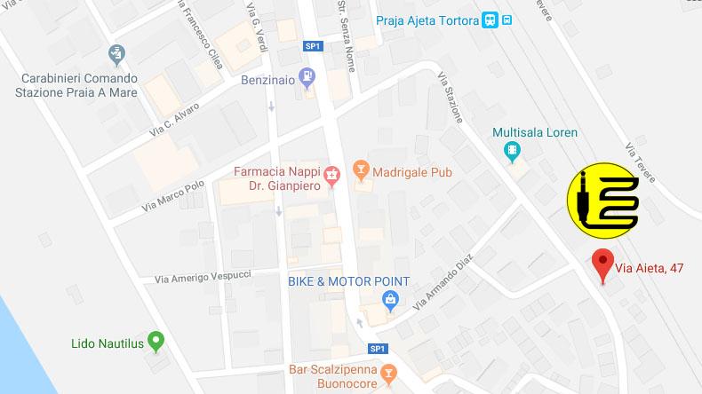 zakich service indirizzo google map